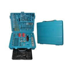 138 pcs Power drilling / Screw driving set with storage bin